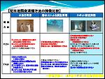 配水池調査清掃方法の特徴比較2015-05-20